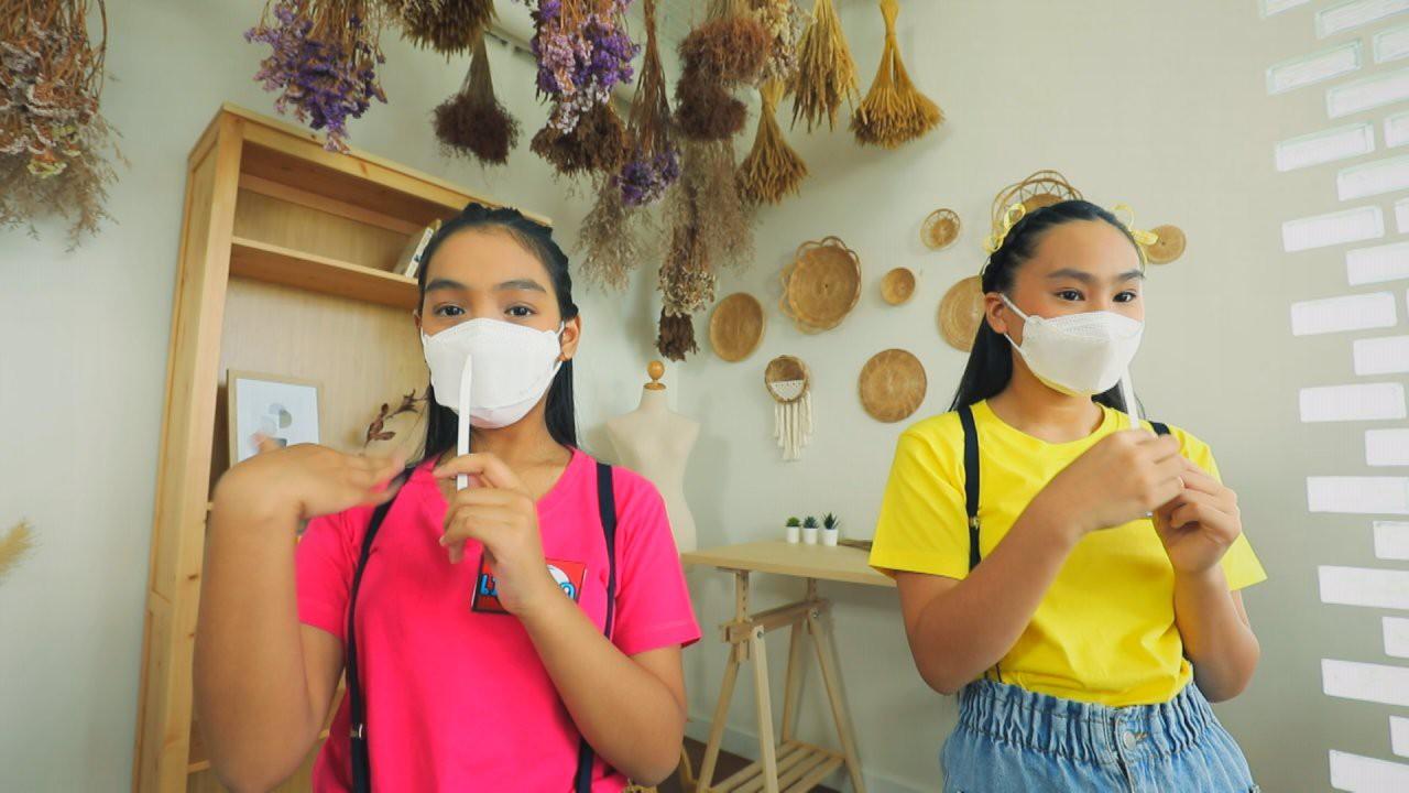 กลิ่น : น้องบอลลูนและน้องเบญจา