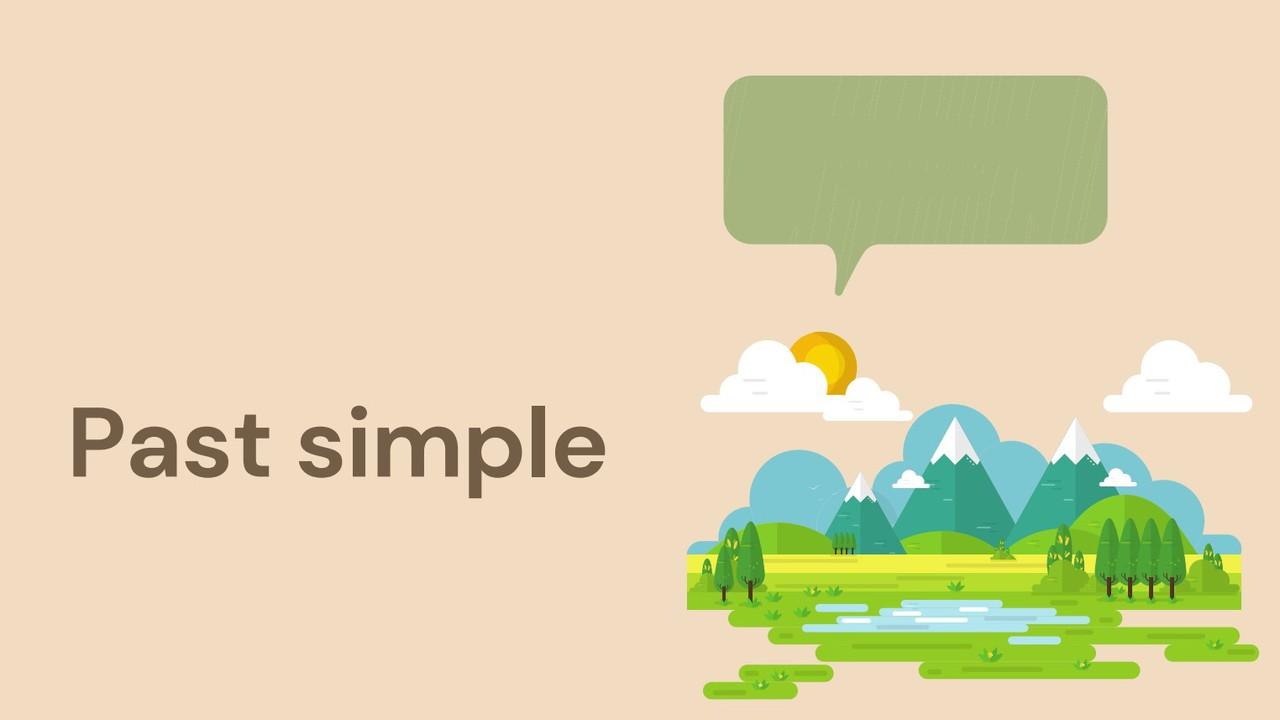 ภาษาอังฤกษ : Past simple